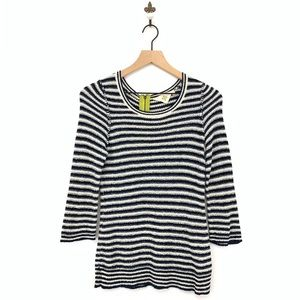 Anthropologie Stacked Latitudes Pullover Top Small